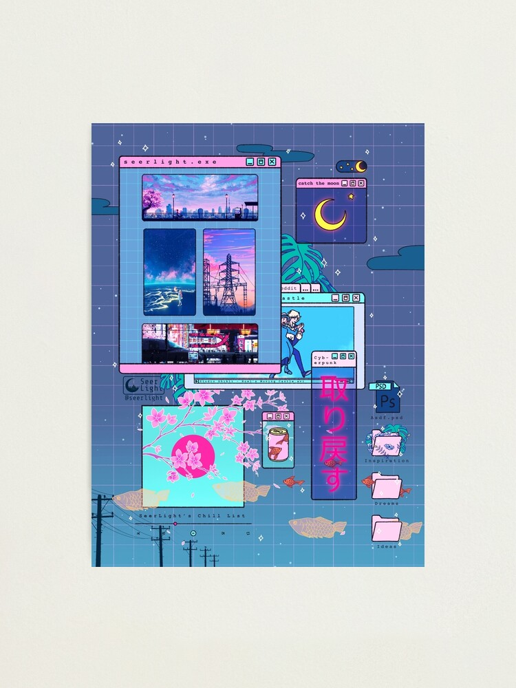 Alternate view of SeerLight desktop night Photographic Print