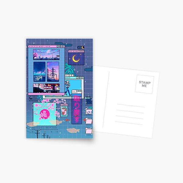 SeerLight desktop night Postcard