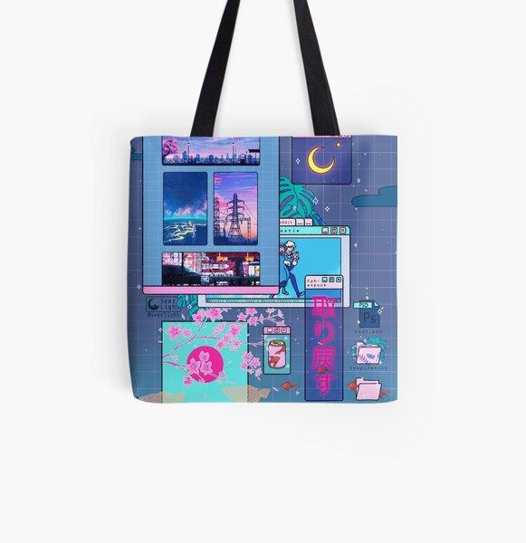 SeerLight desktop night All Over Print Tote Bag