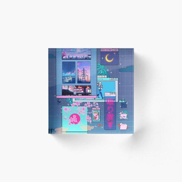 SeerLight desktop night Acrylic Block