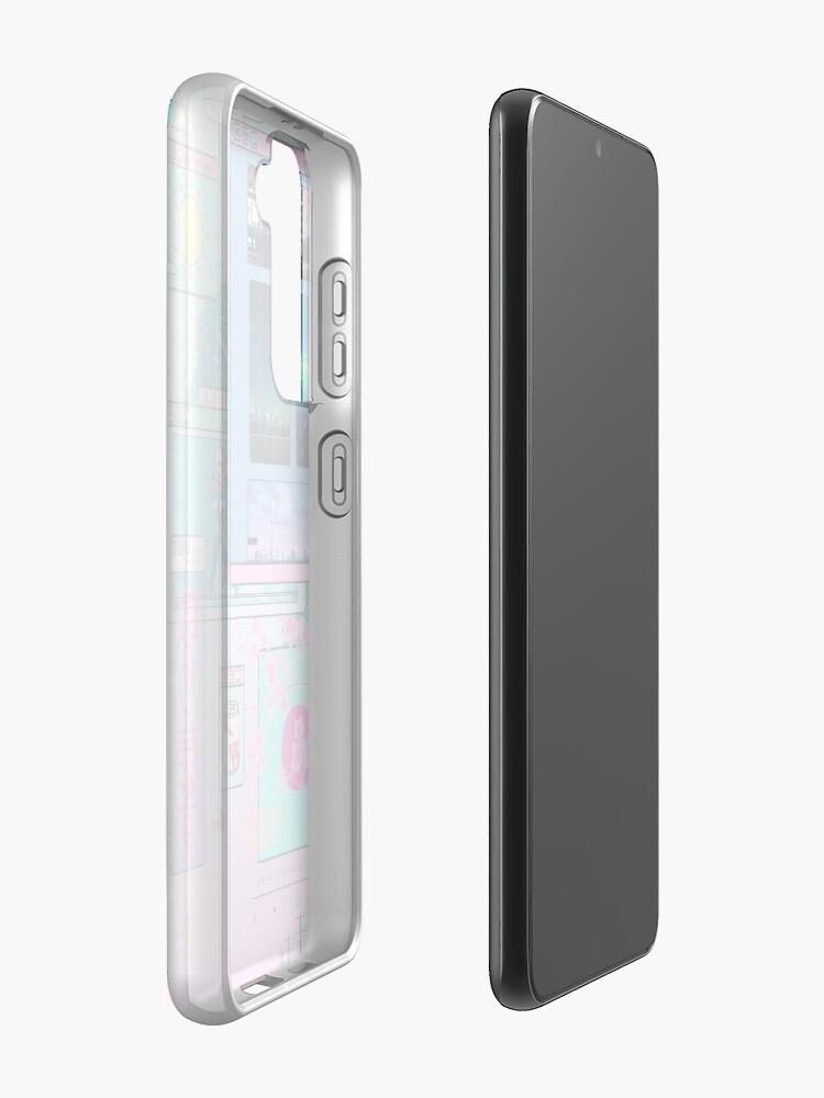Alternate view of SeerLight desktop day Case & Skin for Samsung Galaxy