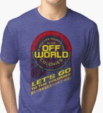 Off World Tri-blend T-Shirt
