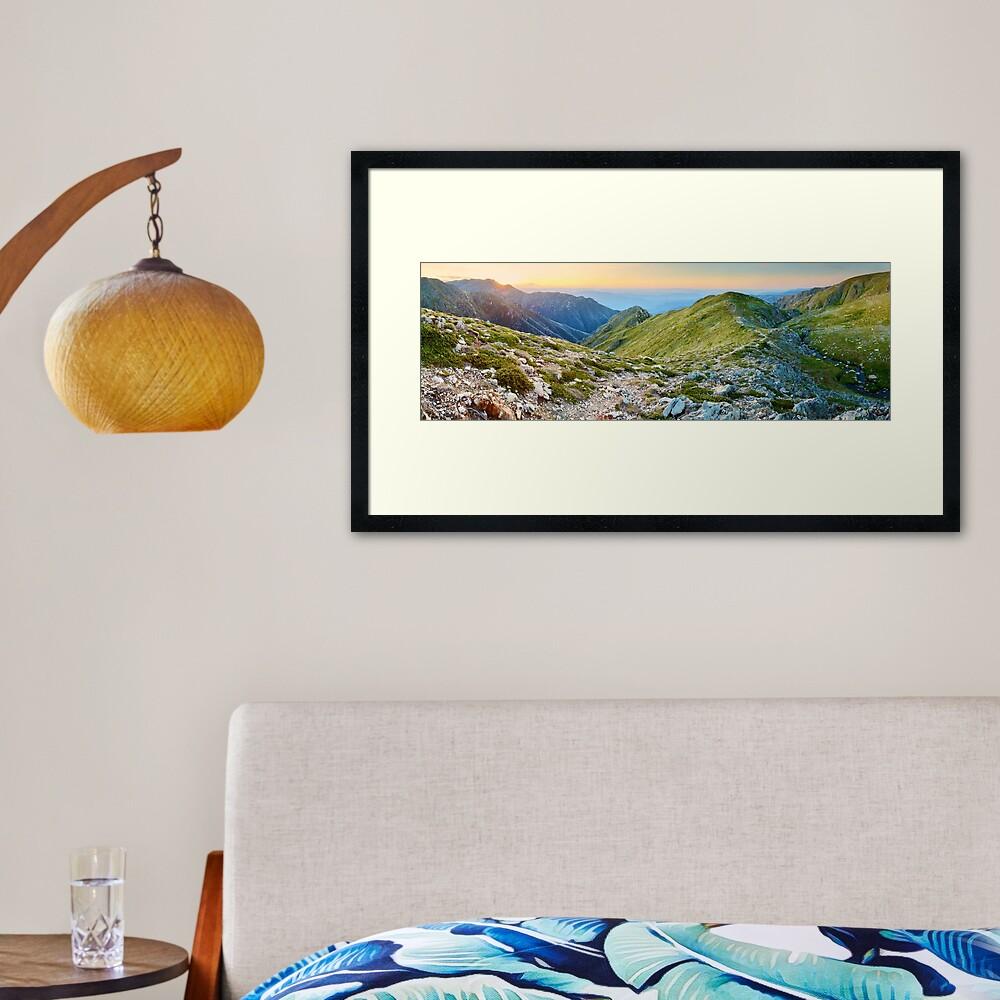 The Sentinel, Kosciuszko, New South Wales, Australia Framed Art Print