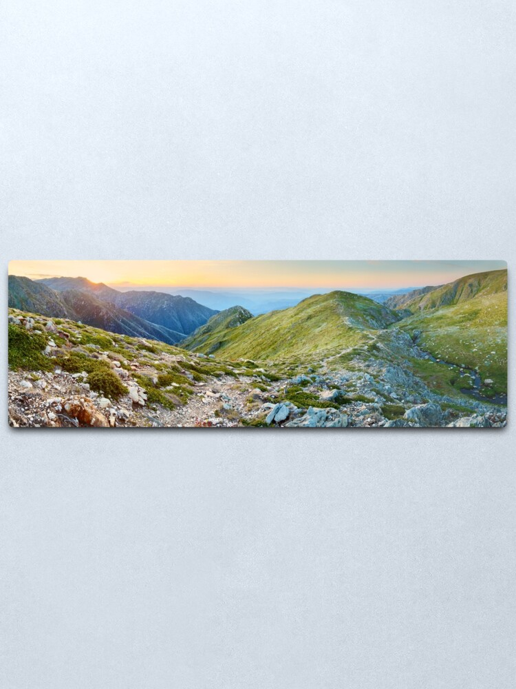 Alternate view of The Sentinel, Kosciuszko, New South Wales, Australia Metal Print