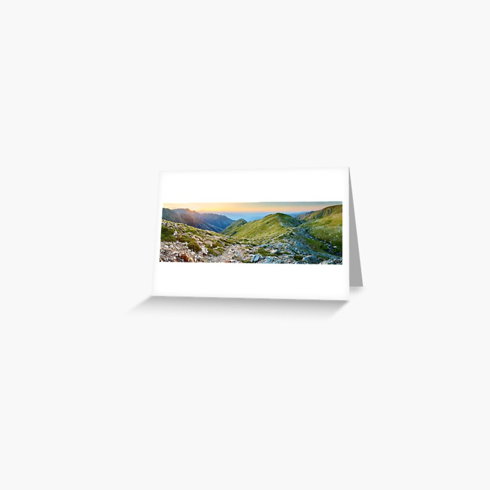 The Sentinel, Kosciuszko, New South Wales, Australia Greeting Card