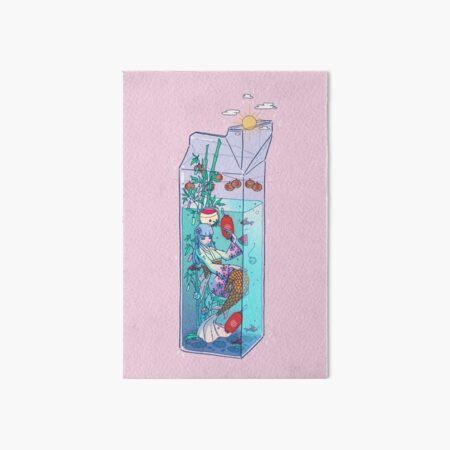 Tanabata Mermaid Drink Art Board Print