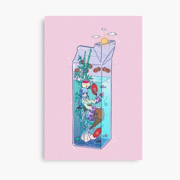 Tanabata Mermaid Drink Canvas Print