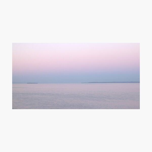 Pink Dawn Photographic Print