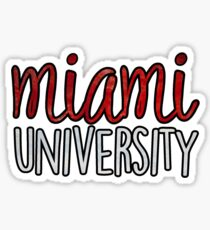 Miami University 2tone Sticker