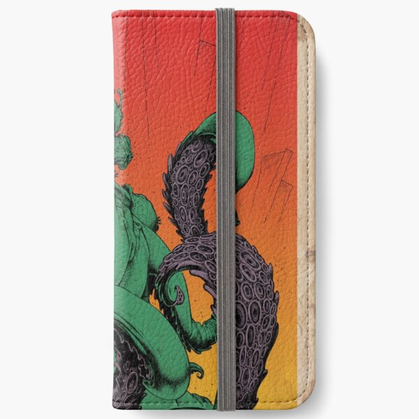 Cthulhu (Vintage) iPhone Wallet