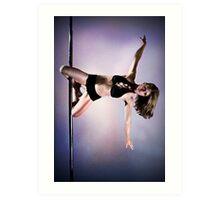 Pole Art - Knee hold II Art Print