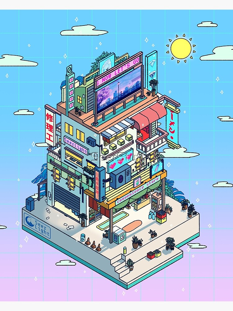 Corner Store Day by SeerStuff