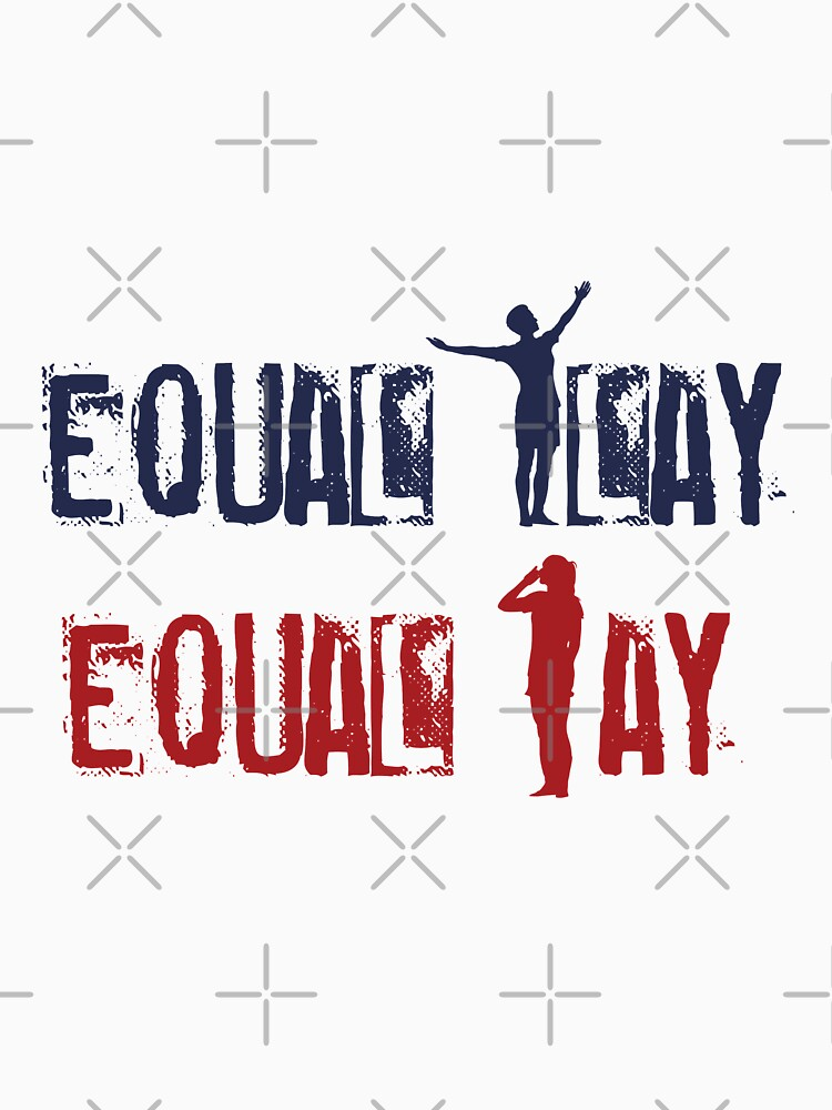 Equal Play Equal Pay (Full Pose) - Megan Rapinoe, Alex Morgan Celebration by ZeldaDoodle
