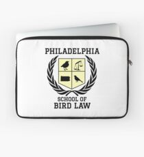 Philadelphia School of Bird Law (light color shirts) Laptop Sleeve