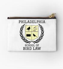 Philadelphia School of Bird Law (light color shirts) Zipper Pouch