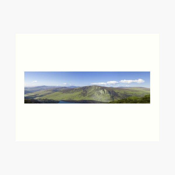 Wicklow Mountains, Ireland - Panoramic  Art Print