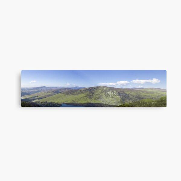 Wicklow Mountains, Ireland - Panoramic  Metal Print