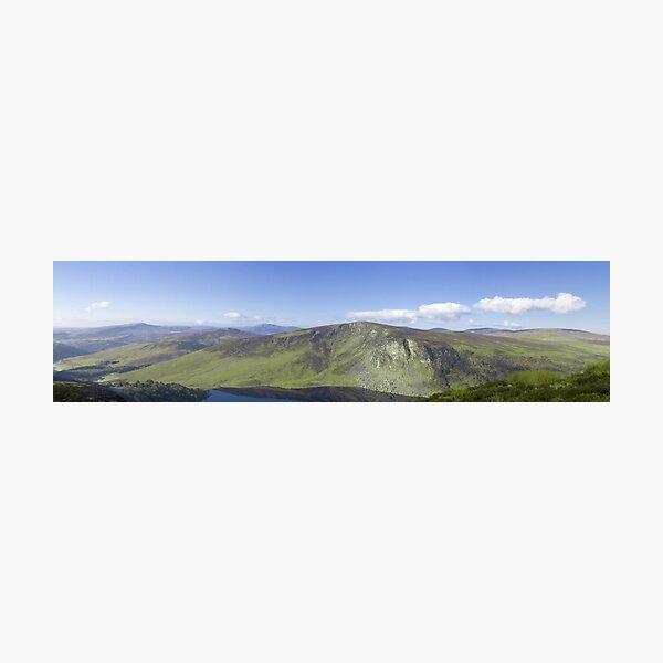 Wicklow Mountains, Ireland - Panoramic  Photographic Print