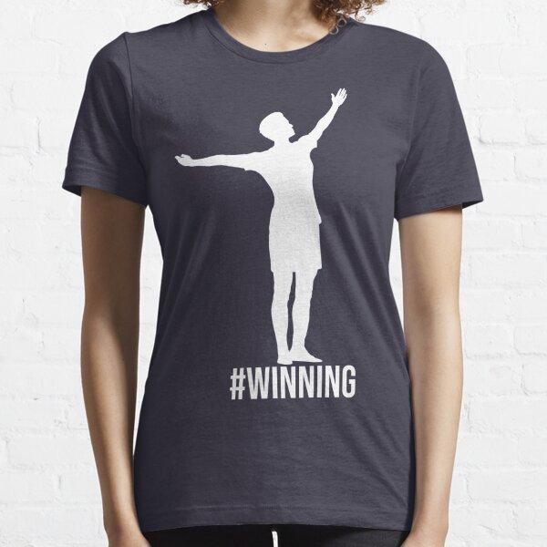 Megan Rapinoe - #Winning (White Graphic) Essential T-Shirt