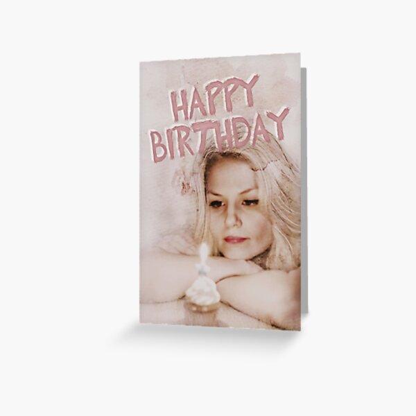 Happy Birthday;  Greeting Card