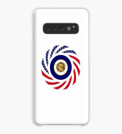Minnesota Murican Patriot Flag Series Case/Skin for Samsung Galaxy