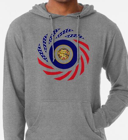 Minnesota Murican Patriot Flag Series Lightweight Hoodie