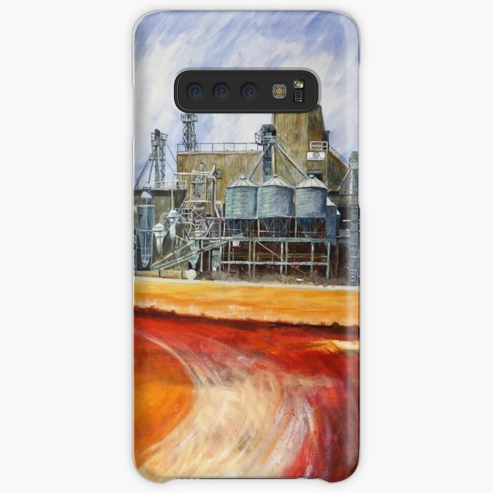 Hafer mahlen - Unigrain Wagin Hülle & Klebefolie für Samsung Galaxy