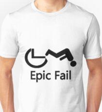 Wheelchair epic fail Unisex T-Shirt