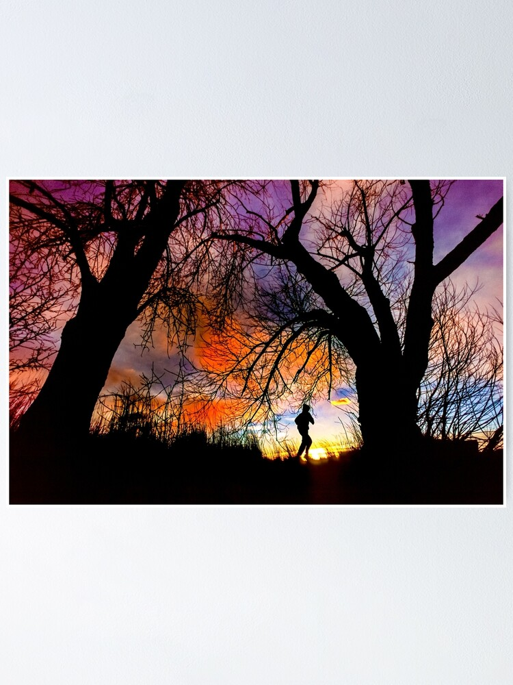 Alternate view of Connie's Sunrise Run Poster