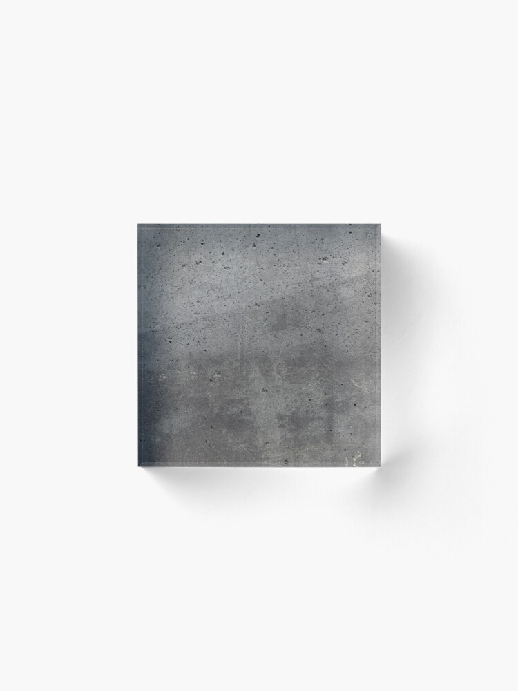 Alternate view of Grey textured concrete wall exterior Acrylic Block
