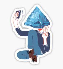 pyramid Sticker