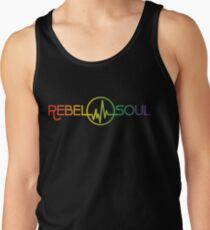 Rebel Soul Rasta Rainbow T-Shirts & More Tank Top