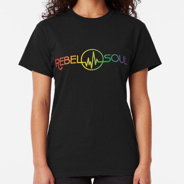 Rebel Soul Rasta Rainbow T-Shirts & More Classic T-Shirt