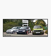 Line Of Dubs  Photographic Print