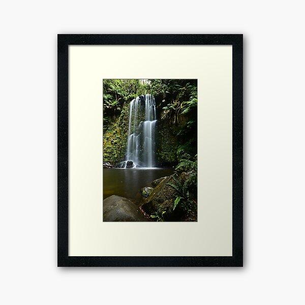 Beaucamp Falls Framed Art Print