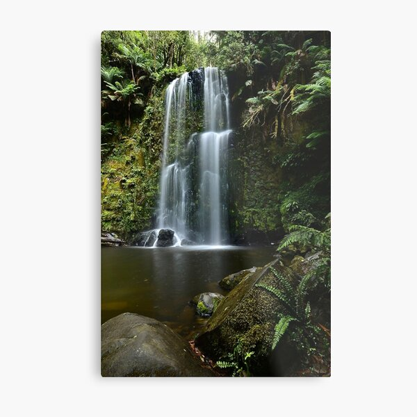 Beaucamp Falls Metal Print