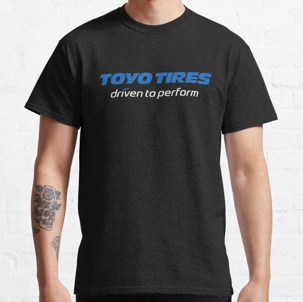 HALF New Toyo Tires Tyres Logo Mens Black T-Shirt