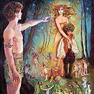 OBERON AND TITANIA by Judy Mastrangelo