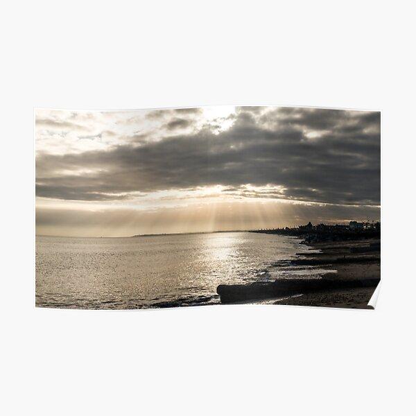 Felixstowe beach Poster