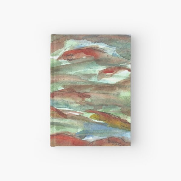 Swimming Like Fish - Golden Cloud Hardcover Journal