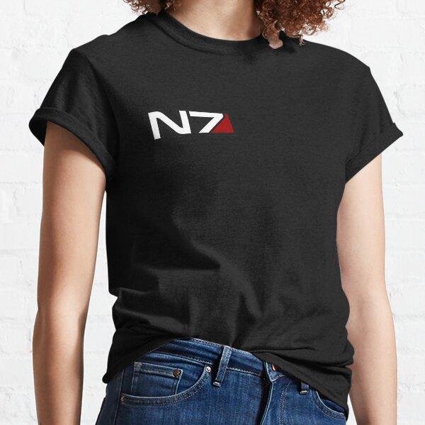 N7 emblem, Mass Effect Classic T-Shirt