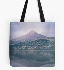 The Attraction Of Mountains by Cat Burton Tote Bag