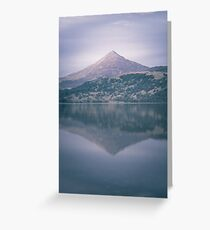 The Attraction Of Mountains by Cat Burton Greeting Card