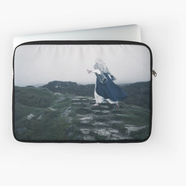 The Blue Witch by Cat Burton Laptop Sleeve