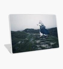 The Blue Witch by Cat Burton Laptop Skin