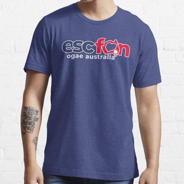 ESCFAN -OGAE Australia Logo (White) Essential T-Shirt