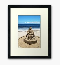 Lord of the Sands of Time Framed Print