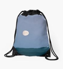 Fairy Hill Of The Caledonians by Cat Burton Drawstring Bag