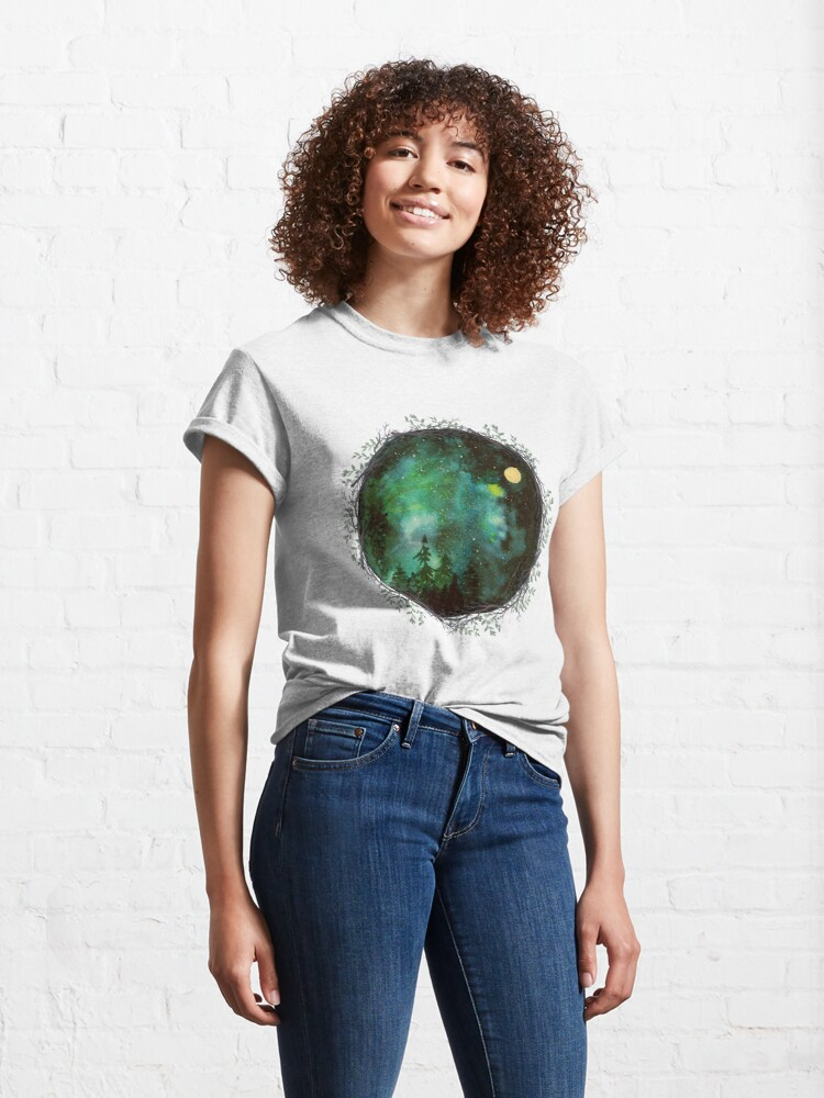 Alternate view of The sky at night Classic T-Shirt