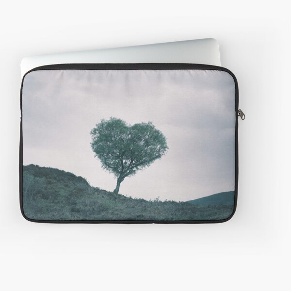 The Heart Of Scotland by Cat Burton Laptop Sleeve